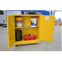 Best Fireproof Flammable Safety Cabinets Three Points Linked Lock For Dangerous Goods wholesale