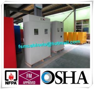 Best Medical Compressed Gas Cylinder Storage Cabinet , Drum Safety Storage Cabinets wholesale