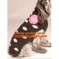 Sweater knitted coat apparel clothes for christmas of crocheting