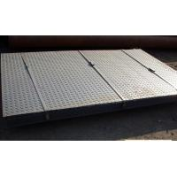 China Checkered Galvanized Steel Sheet In Coil , Metal Sheet Roll Hot Dipped on sale