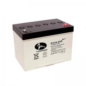 Best EV34 50.5Ah EV Lead Acid Batteries 12v 65ah 20hr Car Battery For Golf Buggies wholesale