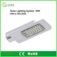 Best DC12V Outdoor Solar Powered LED Street Lights 30W IP65 With 8 Years Warranty wholesale