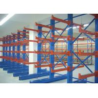 Quality Warehouse Steel Structural Cantilever Storage Racks for Tubular Material wholesale
