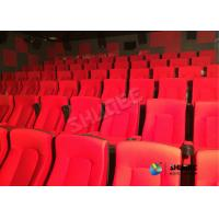 Best Frequency Vibration Effect Red Movie Theater Seats / Chairs Easy Installation wholesale