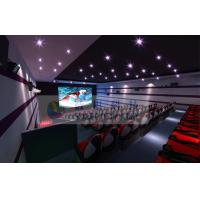 Best Luxurious Decoration 7D Movie Theater With Large Silver Screen And Movable Seats wholesale