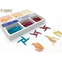Best Disposable Dental Sectional Matrix System Wooden Wedges Dental Kit Colorful For Fixing Tooth wholesale