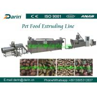 Foodstuff Feedstuff Two screw extruder Machine / dog food machinery