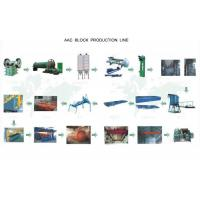 China AAC Autoclaved Aerated Concrete Block Machine For Tailing Sand Block on sale