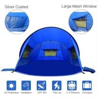 Best UV 50 protection 210T Polyester Beach Sun Shade Tent wholesale