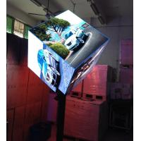 Best Six Faces 2000 nit Curved Led Displays Video Wall , Ph3mm Led Cube Display wholesale