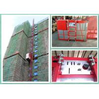 Best Twin Cages Construction Hoist Elevator , Buck Construction Material Lifting Hoist wholesale