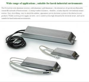 Cheap 1200w Gold Aluminum Inverter Brake Resistor Heat - Resistant Powtech for sale