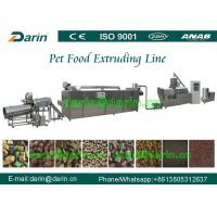 High Efficiency Automatic pet food extrusion process Line stainless steel