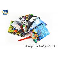 Best A4 A5 A6 3D Lenticular Notebook Eco - Friendly Material For Student Stationery wholesale