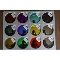Best Mirror 1.499 Revo Sunglass Lenses , 70MM Dia Sunglasses Color Tinted Lenses wholesale