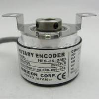 Buy cheap HES-25-2MD Rotary Electric Encoder 2500 P/R IP50 Compact Design High Precision from wholesalers