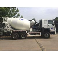 Cheap 6x4 8M3 Concrete Mixer Tank Truck Sinotruk Howo7 White Color Hw76 Cabin for sale