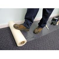 China Customized Carpet Protection Film / Carpet Protection Tape 60cm X 100m on sale