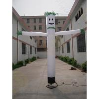 Cheap Customized 3m Attractive Advertising Air Dancer Inflatable Single Leg for sale