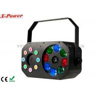 Best 8 x 3W Disco Party Lights Gobo Effect With Laser RGBW / Built-in Programmer wholesale