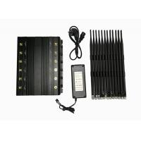 Buy cheap 12 Bands High Power Adjustable Stationary Electronic Jamming Device 2 watts Jammer from wholesalers