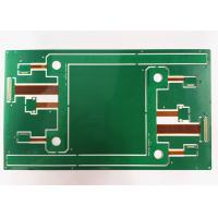 Best ENIG / HASL Surface Multilayer PCB Board Rigid Flex Board Green Soldermask For Drive wholesale