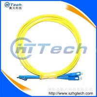 Buy cheap China Fiber Patch Cord Supplier Singlemode SC-LC Fiber Optic Patch Cable from wholesalers