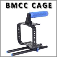 Cheap New lightweight camera cage rig for BMCC BLACKMAGIC CINEMA camera Fast Delivery for sale