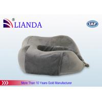 Cheap New Patent Travel Pillow Boots With Carry Bag Itself ,  Black Velboa Cover Plane for sale