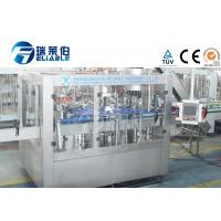 Best 3 In 1 Glass Bottle Production Line Machinery Soda Water / Carbonated Soft Drink wholesale