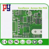 Best 4 Layer Double Sided PCB Board Fr4 Base Material 25um 1mil Hole Copper Thickness wholesale
