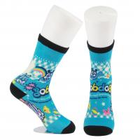 Best Breathable Eco - Friendly 3D Printed Socks For Adults Custom Made Size wholesale