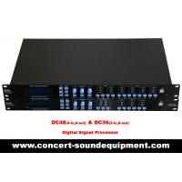 Best Line Array Sound System / 4 input , 8 ouput Digital Signal Processor For Concert And Living Event wholesale