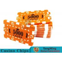 Best Custom Design Cheap Casino Poker Chips , ABS Plastic Numbered Poker Chips  wholesale
