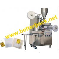 Best tea-bags packaging machinery with thread and tag wholesale