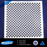 Cheap Aluminum Curtain Wall Cladding and Perforated Metal Tube for sale