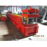 Best European Metal Door Slot Profile Roll Forming Machine With Automatic Punching 3 - 5 m / min wholesale