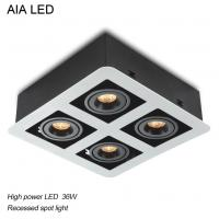 Best Europe modern square 36W COB LED down light for hotel use wholesale