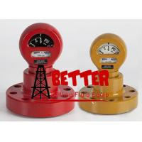 Buy cheap BETTER TYPE F Mud Pressure Gauge Equal OTECO Model 6 Flanged / Union end Connection 0-10000 psi Standard service from wholesalers