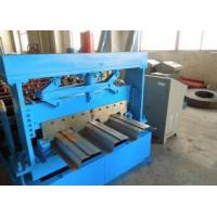 Best 1219 mm Width Metal Floor Deck Roll Forming Machine with Automatic Hydraulic Cutter wholesale