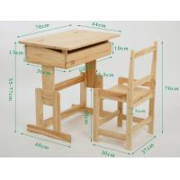 Cheap Wooden student furniture classroom desk and chairs