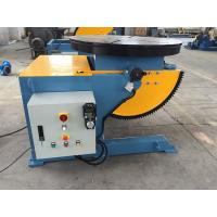 Best 3 Jaws Rotary Welding Positioners For Pipe Tilting And Rotation 0 - 120° Automatic Tilt Angle wholesale