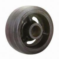 Best Rubber Wheel with Cast Iron Center wholesale