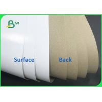 Best Good Stiffness 140gsm 170gsm Coated White Top & Uncoated Liner Paper For Cartons wholesale