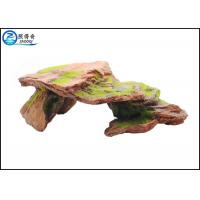Cheap Customized Polyresin Fish Aquarium Craft Moss Rock Aquarium Ornaments wholesale