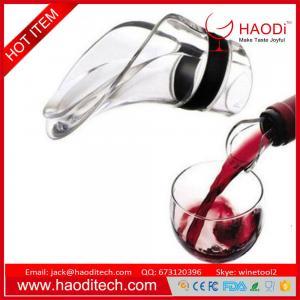 China Delicate Wine Pourer Wine Aerator Pourer Aerating Wine Pourer Premium Wine Decanter on sale