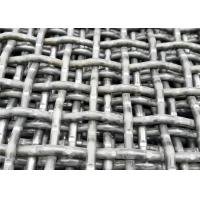 Best High Tensile Steel Quarry Screen Mesh For Stone Crusher Mining Industry 2800mm wholesale