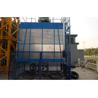 Cheap Rack and Pinion Building Material Hoisting Equipment / Construction Lift 1T - 3.2 T for sale