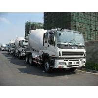 8m3 , 9m3 , 10m3 ISUZU Mobile Concrete Mix Truck 6x4 With Hydraulic System