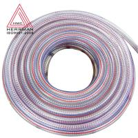 China HMGH-02 Colored Home Appliances Parts Flexible PVC Steel Wire Hose 15kg / Roll on sale